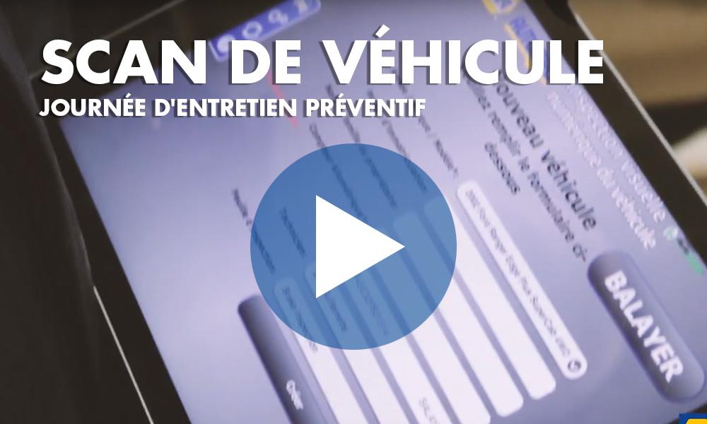 Scan de véhicule