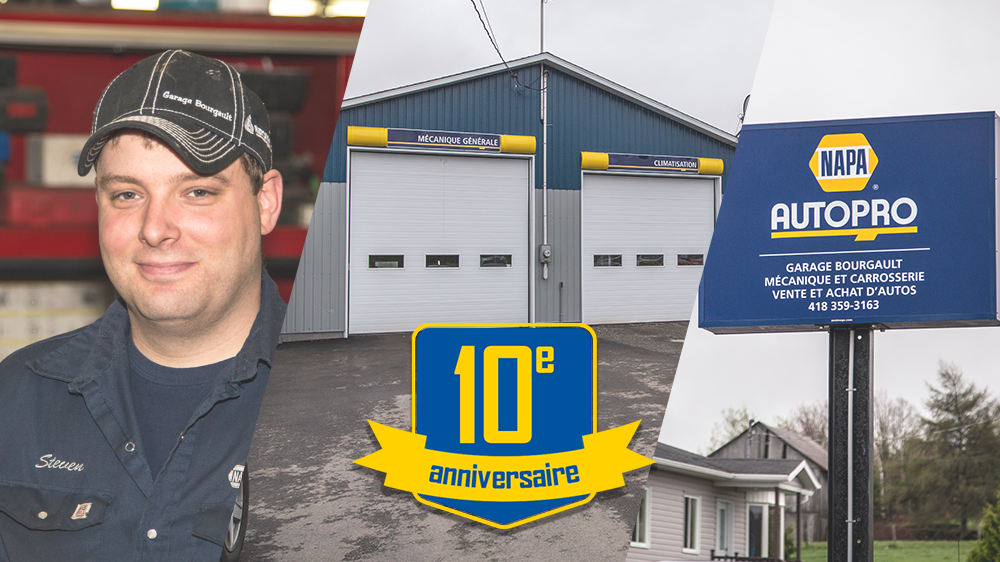 Le Garage Bourgault fête ses 10 ans!