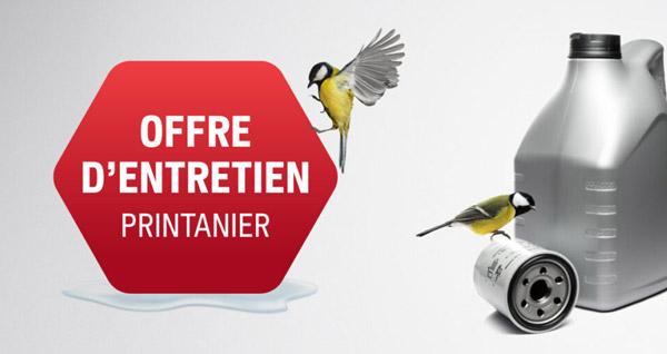 Offre Entretien Saisonnier Printemps 2021